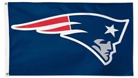 NEW ENGLAND PATRIOTS LOGO fremont 3x5ft flag superior quality GENUINE NFL Lic