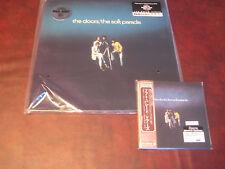 THE DOORS SOFT PARADE JAPAN REPLICA EXACT TO LP IN A RARE OBI CD + 180 GRAM LP
