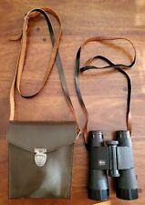 Vintage 1960s Leitz Wetzlar Trinovid Binoculars 10x40 Germany With Case