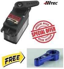 Hitec HS-7950TH Servo Ultra Torque Titanium Gear + Blue Aluminum Horn