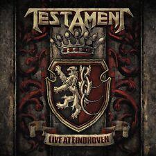 TESTAMENT - LIVE AT EINDHOVEN  DIGIPACK CD NEU