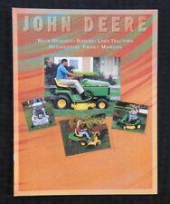 1995 1996 JOHN DEERE STX38 STX46 LX172 LX176 LX178 LX188 LAWN TRACTOR BROCHURE