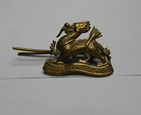 WW1 Royal Berkshire collar badge Princess charlotte of wales genuine badge