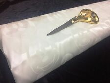 *NEW*White Jacquard Satin *Mickey Mouse* Dress/Craft/Curtain Fabric*FREE P&P*