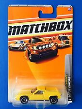 2011 Matchbox YELLOW 1972 LOTUS EUROPA SPECIAL UK sports coupe - mint on card!
