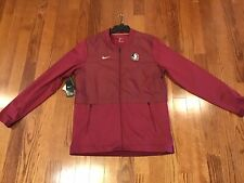 NWT! Florida State Seminoles Nike Adult Large On Field Full Zip Jacket