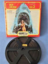 SUPER-8-FILM DER WEISSE HAI 2 TIERHORROR ! REVUE SCHOCKER ! 110 m COLOR TON OVP