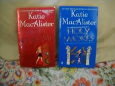 Lot of 2 - Katie MacAlister 'Aisling Gray, Guardian' Paranormal Romance Books