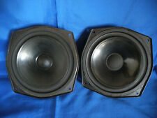 Imf Super Compact Ii Woofer-Driver Pair + Kef- Video Demonstration