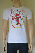 NEW Abercrombie & Fitch Vintage Flash Tee White Superhero T-Shirt XL