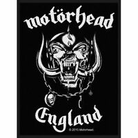 "MOTORHEAD - ""ENGLAND"" - WOVEN SEW ON PATCH"
