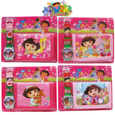 DORA THE EXPLORER - KIDS CHILD PRESCHOOL ACCESSORIES WATCH WALLET PURSE BAG SET