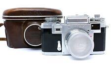✮ Zeiss Ikon Contax IIIa mit Sonnar 50mm f/1.5 + Tasche // vom Händler!