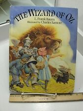 THE WIZARD OF OZ L. Frank Baum 1991 Oversized Illustrated By Santore Children's