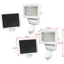 2 PACK 100 SMD LEDs White Solar Powered Motion Sensor Security Light Flood 60 80