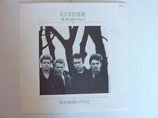 """U2 PRIDE 7"""" SINGLE EXCELLENT CONDITION"""