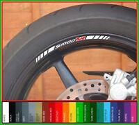 8 x BMW S1000XR Wheel Rim Decals Stickers  -  s 1000 xr  s1000 xr sport se  (A)