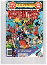 Adventure Comics #461 -Justice Society begins; DC 1979  VF