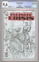 Infinite Crisis #3 CGC 9.6 White Pages 2129737023 Second Printing