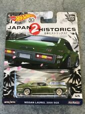 2017 Hot Wheels Japan Historics 2 Nissan Laurel 2000 SGX Car Culture Real Riders