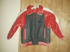New York Yankees MLB Youth Team Jacket Size 8 New