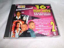 16 Top Hits International aus den Charts 2/93 - CD gebraucht   gut