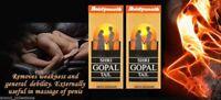 BAIDYANATH SHRI GOPAL OIL//100% HERBAL//REMOVES WEAKNESS & IMPOTENCY//10 ML EACH