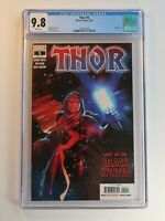 Thor #5 CGC 9.8 - White Pages - First Black Winter - Marvel 2020 Donny Cates