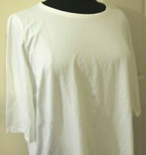 Eileen Fisher women's white top-size 3X-cotton