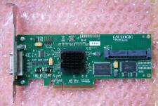 LSI SAS3442E-HP 8-Channel 3Gbps SAS SATA PCI-e x8 HBA + Basic RAID (0,1)