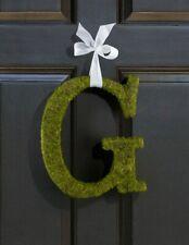 Large (15) Moss Monogram - G