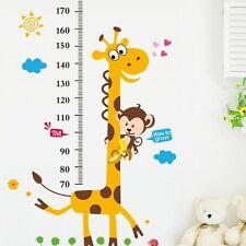 Children Height Growth Chart Measure Wall Sticker Kids Room Decor Animal  Decal Part 48