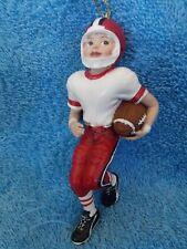 Ksa Inc Kurt Adler Boy Football Player Christmas Ornament