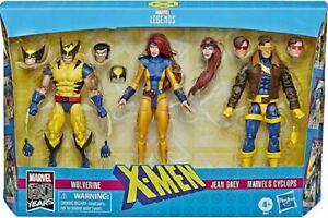 Jean Grey, Cyclops & Wolverine - X-Men DarkPhoenix - Marvel Legends - EXCLUSIVE
