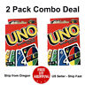 UNO Card Game ( 2 PACK ) - US Seller - Ship Fast - Free Shipping