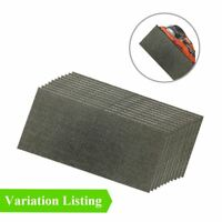 Hook and Loop 1/2 Mesh Sanding Sheets, 115 x 230mm Abraisive Sandpaper Pads