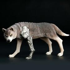 """1/6 Scale Soldier Accessories Black Combat Wolf Statue for 12"""" Action Figure"""