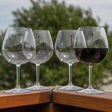 Unbreakable Indoor / Outdoor Pinot Noir Wine Glasses, Shatterproof and Reusable.