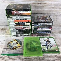31 Huge video game console lot Xbox, Xbox 360, Xbox 1, PS2
