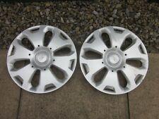 "2 x 14"" Ford Fiesta wheel trims Hub Caps......wk48...."