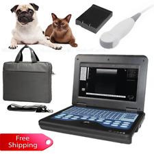 US Stock,Veterinary Ultrasound Scanner VET Laptop Notebook Machine Micro Convex