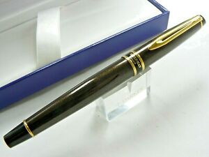 WATERMAN EXPERT ROLLERBALL PEN METALLIC BROWN WITH GOLD TRIM NEW IN BOX