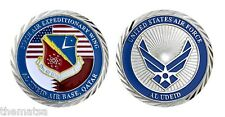 "AIR FORCE 379TH AIR WING AL UDEID AIR BASE QATAR 1.75"" CHALLENGE COIN"