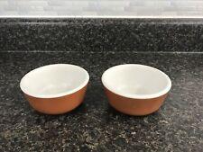2 Vintage Cook's Hotel & Restaurant Supply Jackson China Custard Cups / Ramekins