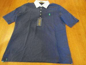 Womens Ralph Lauren Polo Golf Shirt, NWT, L