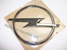 Genuine Vauxhall OPEL Tailgate Badge 112mm Astra Corsa Vectra Zafira 93183077