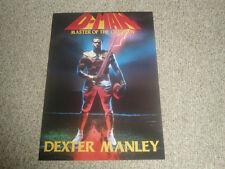 "DEXTER MANLEY WASHINGTON REDSKINS ""D-MAN"" 20X30 POSTER PRINT"