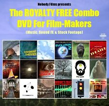 ROYALTY FREE Music, Sound FX & Stock Footage for Film-Makers - DVD Data Disc