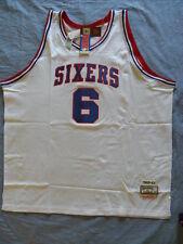 Mitchell Ness M&N Philadelphia 76ers Sixers Julius Dr J Erving Jersey 56 3XL NWT