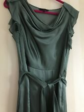 Jasper Conran green evening dress size 12